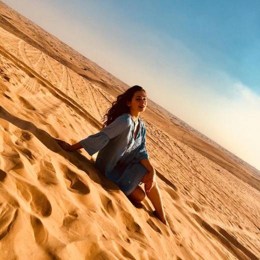 Ужгородка Наталія Поляк – про життя в Об'єднаних Арабських Еміратах, тамтешній карантин і поезію