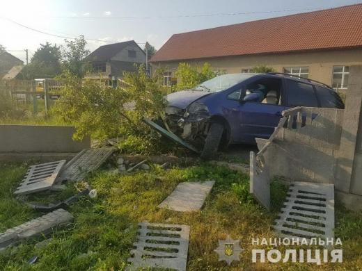 На Закарпатті п'яні водії скоїли 2 ДТП: подробиці