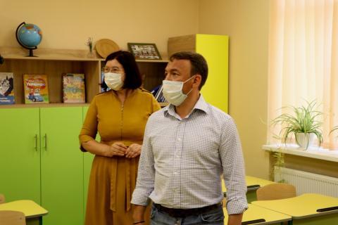 Олексій Петров перевірив готовність до роботи освітніх закладів (ФОТО)
