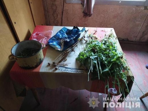 На Рахівщині поліція знайшла мак та засоби для приготування наркотиків у 44-річного чоловіка
