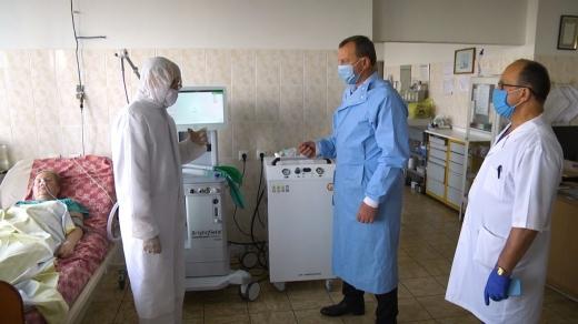Ужгородська міська лікарня отримала сучасне обладнання