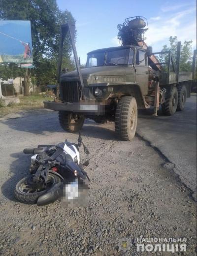 Закарпатські поліціянти відкрили кримінальне провадження за фактом смертельної аварії на Іршавщині