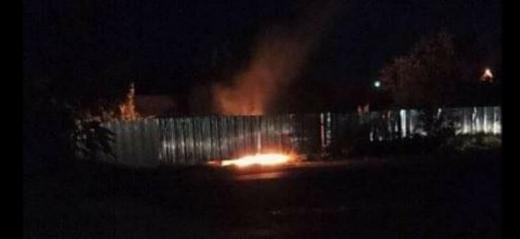 Уночі в обласному центрі сталася пожежа