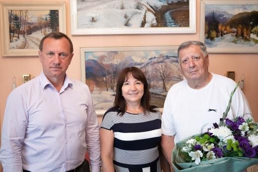 Перший міський голова Ужгорода часів Незалежності відзначив 80-річчя