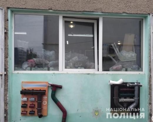 На Тячівщині двоє чоловіків обікрали склад будівельного магазину