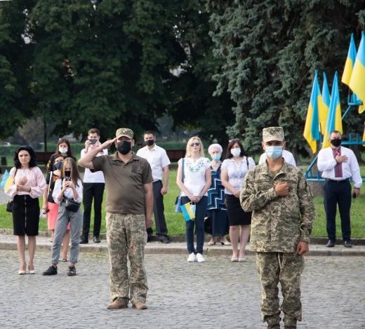 Як Ужгород святкує День Прапора