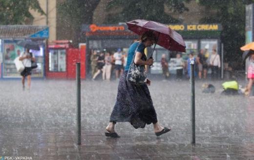 На День незалежності в Україні погіршиться погода