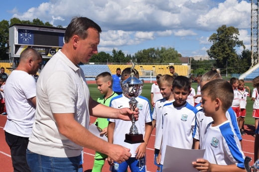 Міжнародний дитячий турнір із футболу завершився в Ужгороді (фоторепортаж)