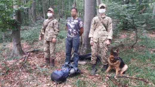 Іноземця без документів знайшли у лісі закарпатські прикордонники