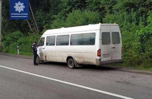 Чи дотримуються протиепідемічних вимог водії громадського транспорту перевірила сьогодні патрульна поліція
