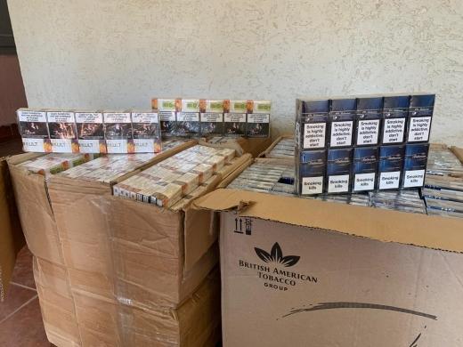 Чергову спробу тютюнової контрабанди припинили закарпатські прикодонники
