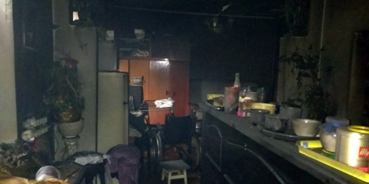 Закарпатські вогнеборці врятували чоловіка під час пожежі в житловому будинку