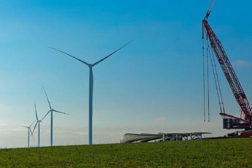 У Запорізькій області побудували вітрову станцію потужністю 98МВт