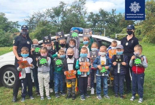 """Поліція проводить уроки """"безпеки"""" для шкіл та дитячих садочків"""
