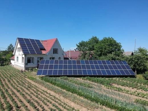 За перше півріччя в Україні підключили 7 220 приватних сонячних станцій