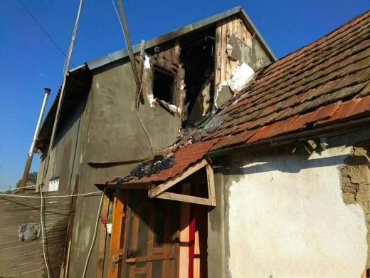 На Закарпатті горів житловий будинок: працювали вогнеборці трьох підрозділів