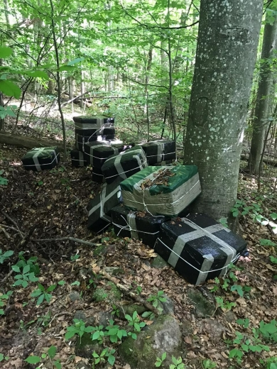 Поблизу кордону з Румунією виявили контрабандний сховок
