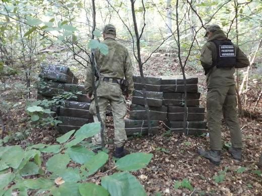 Закарпатські прикордонники виявили контрабандний сховок