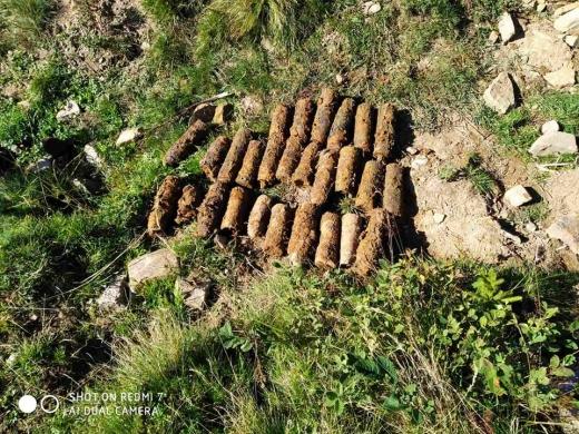 Сховок із боєприпасами виявили у гірському селі на Закарпатті
