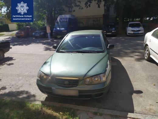 В Ужгороді розшукують очевидців ДТП: пошкоджено транспортний засіб