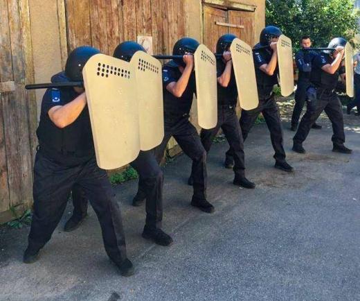 Тактико-спеціальні навчання відбулися на базі територіального управління Служби судової охорони у Закарпатській області