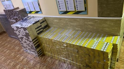 43 ящики курива: на Закарпатті виявили чергову спробу контрабанди
