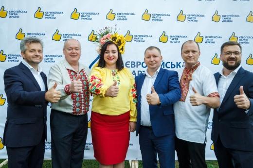 У центрі Європи відбулася зустріч Рахівської районної команди Європейської партії України
