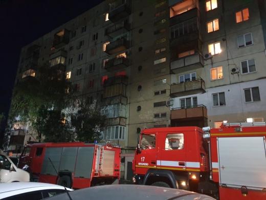 В одній із багатоповерхівок Мукачева горіла квартира