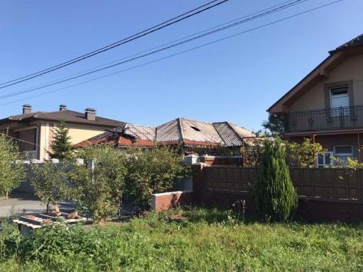 Нічна пожежа в Ужгороді: горіла територія приватного господарства