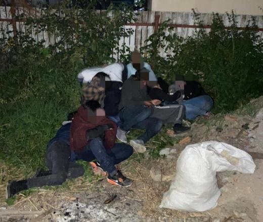 Групу нелегалів виявили правоохоронці на Закарпатті