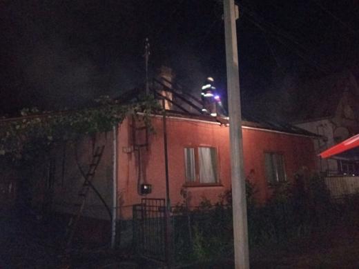 Під час пожежі на Закарпатті загинув чоловік