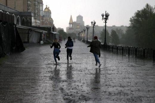 Українців попередили про різке погіршення погоди: очікуються сильні зливи