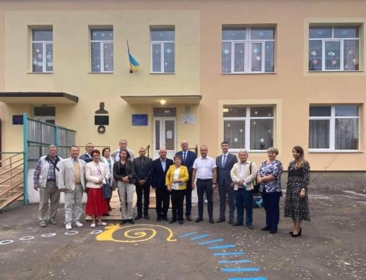 У закарпатському селі відкрили пам'ятник відомому чехословацькому підприємцю