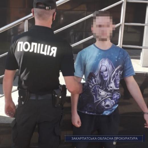 Жителя Рахова взяли під варту за підозрою у продажі наркотиків