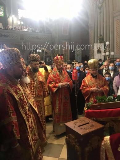 В Ужгороді відбулась інавгурація  єпископа Ніла Лущака
