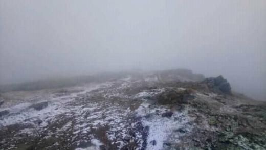 У Карпатах випав перший сніг - опубліковано ФОТО