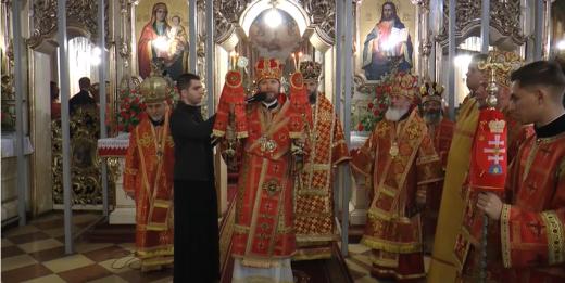 В Ужгороді відбулась святкова інтронізація апостольського адміністратора греко-католиків Закарпаття