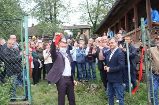 Для туристів відкрили ще один вхід до Ужгородського скансену