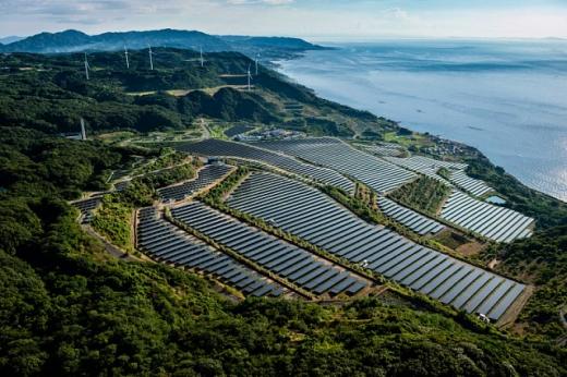У Японії різко зросло виробництво електроенергії з відновлюваних джерел