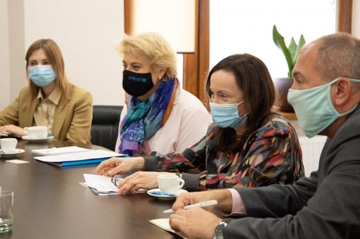 В Ужгород із робочим візитом завітали представниці ООН та ЮНІСЕФ