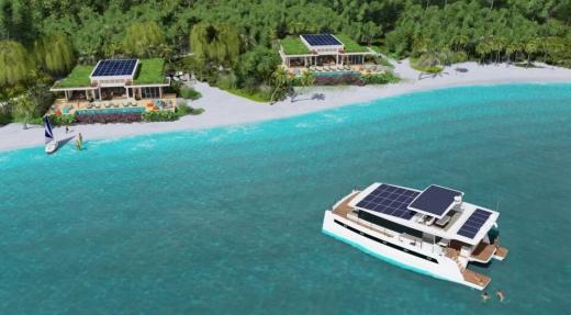 Австрійці розробили автономний острівний курорт на сонячній енергії