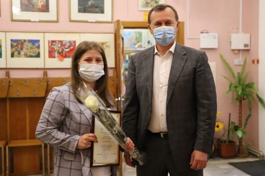 В Ужгороді вітали працівників бібліотек