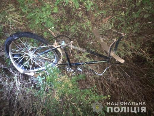 На Ужгородщині водій автомобіля «Hyundai» наїхав на велосипедиста