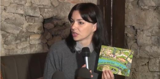 В Ужгороді розробили листівки з аудіогідами