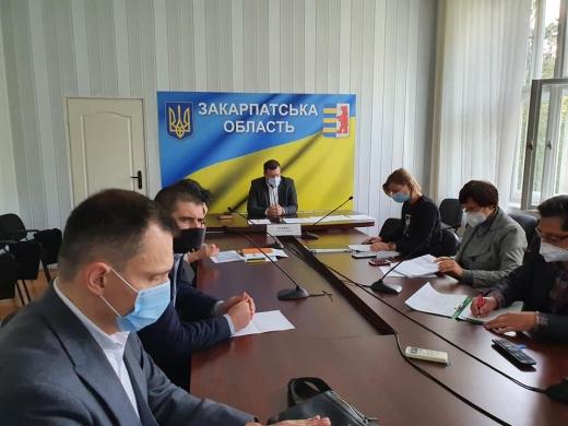 Результати засідання Закарпатської обласної регіональної комісії ТЕБ та НС
