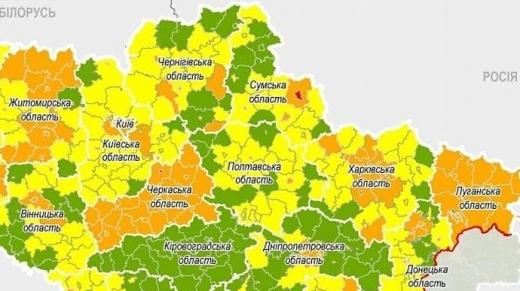 В Україні посилили обмеження у більшості обласних центрів: нові зони