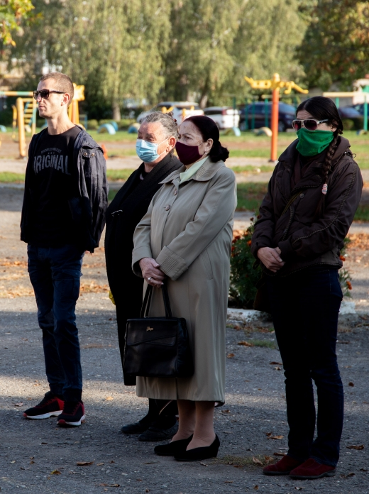 В Ужгороді відкрили меморіальну дошку загиблому Герою АТО Давиду Гамсахурдії