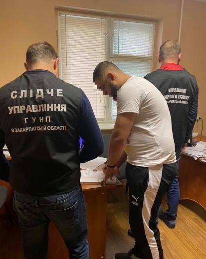 Закарпатцю вручили підозру у підпалі кафе в Мукачеві (фото)