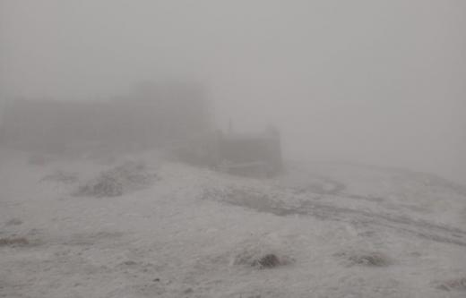 У Карпатах випав перший сніг