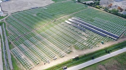 В Австрії будують 15-мегаватну сонячну станцію на місці колишнього сміттєзвалища